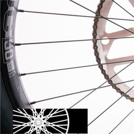 Triple Cross Spokes